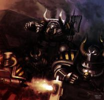 Iron Warriors by OEVRLORD