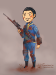 Commission Sole Survivior Hannibal by fangmich