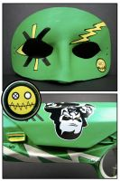 Leather Fun Ghoul mask by maskedzone