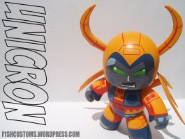 Unicron mighty mugg by F1shcustoms