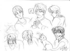 Mr Free doodles by TTSnim