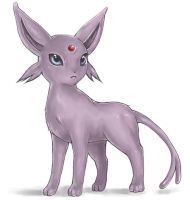 FanArt: Espeon by white-angel-ariah