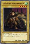 Greyson the Mobster Griffon Yu-Gi-Oh card by dakln