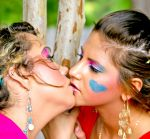 Girls Kissing Again by candhphotography