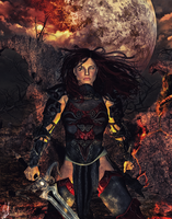 Fantasy Warrioress - CM by Savvid