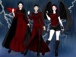 A Storm of 3 Generations by PiccoloFreakNamick