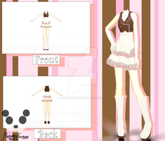 .: MMD Casual Outfit Download :. by PandaSwagg2002