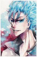 More Bleach: Grimmjow Jaegerjaquez by Ze-RoFruits