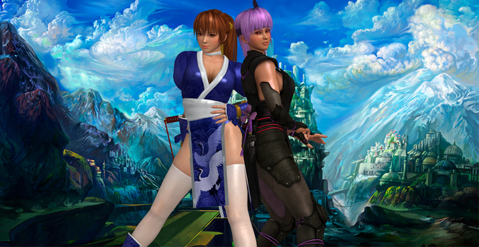 The Mugen Tenshin Fighters by SilverMoonCrystal