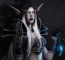 Lament of Highborne-closeup by cocoasweety
