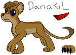 Character Sheet - Danakil by shinigamimaxwell