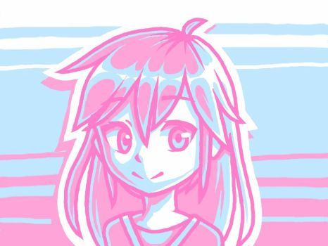 Pink and Blue by jibberldd5