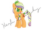 Crystal Empire Applejack by kaylathehedgehog