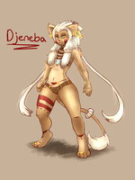 Art Trade - Djeneba by DYW14