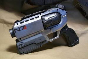 Mass Effect Inspired Super Soaker by ViktorGraves