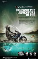 Bajaj Pulsar 200 NS Print Ad by kingshrestha