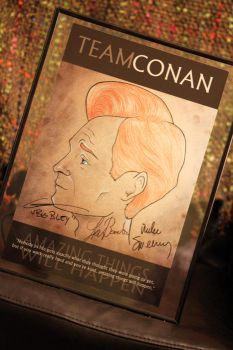 Autographed Conan Drawing 2 by YellowEleven