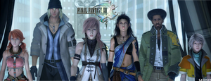 Final Fantasy XIII Characters by Lestat117x