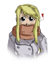 Winry Rockbell by BubbleNaga
