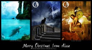 Merry Christmas from Alicia by nevermoregraphix