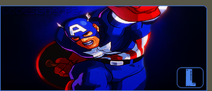 Captain America by Lcpat