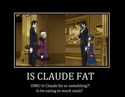 Is Claude fat?! by strawberry-neco