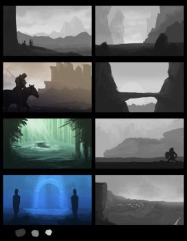 Landscape Comps by hallodom