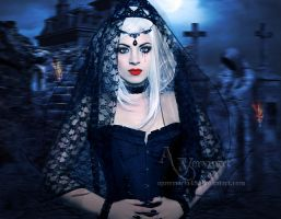 The widow 2 by annemaria48