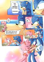 So Hot (Sonamy Comic) by ProBOOM