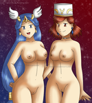 [Commission48] Sexy YuGiOh Ladies by izka-197