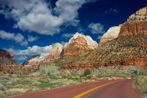 The Road to Zion by jakeh13