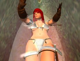 Red Sonja Venus Fly Trap 12 by kaolumbia