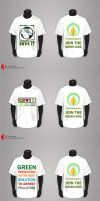 Eco-Friendly T-Shirt Designs by vivsters