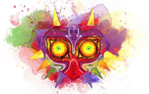 Majora's Mask by Eemari