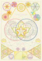 Sacred Geometry preliminary design by Paranda