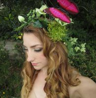 Buttefly Fairy Headdress by Lillyxandra