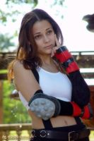 Ann Marie as Tifa Lockhart -1- by PurpleElite