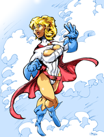 Power Girl 2 by Abt-Nihil