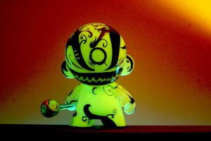 Trepidation Munny in the light by NoriToy