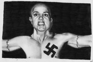 Britney in American History X by StarvingArtist513