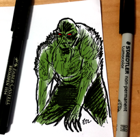 DSC 2015-10-22 Swamp Thing by theEyZmaster