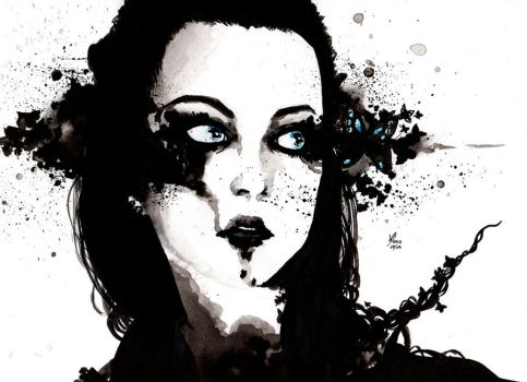 Amy Lee by HaitiKage