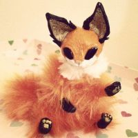 Fox Kit OOAK by TotemEye