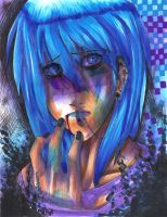 Blue Infection by EliciaElric