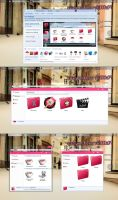 elastic Pink {k1000a09} theme iconpackager by k1000adesign