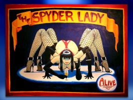 Spyder Lady by morgil99
