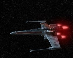 X-wing Render by abazou