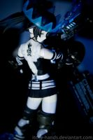 Figma .:Black Rock Shooter Beast:. by Itchy-Hands