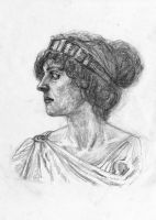 Study of Irene (by William-Adolphe Bouguereau) by AlanTheRobot
