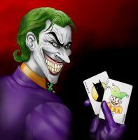 The Man Who Laughs by Mareishon